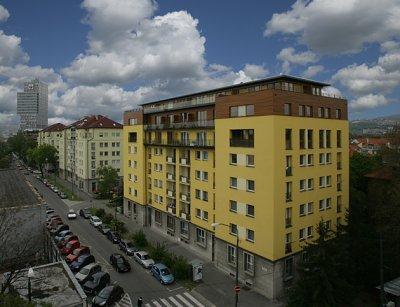 Nadstavba bytového domu Paríčková 19-21, Bratislava