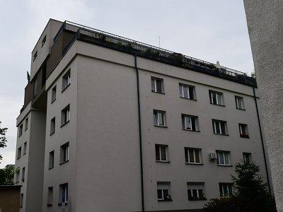 Nadstavba bytového domu Trenčianska Bratislava