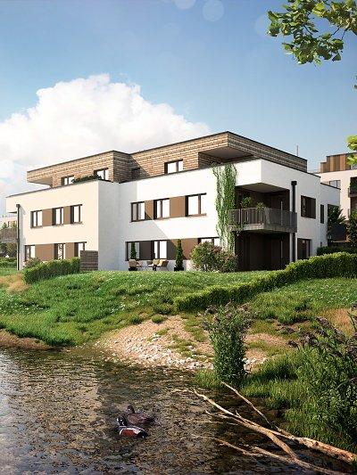 Bytové domy Senec Tehelňa